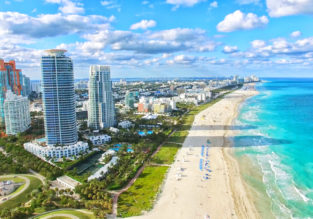 Cheap non-stop flights from North Carolina to Miami or vice-versa from only $82!