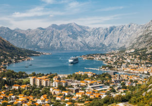 Vacation in Montenegro! 7 nights at well-rated apartment + cheap flights from Budapest for just €68!