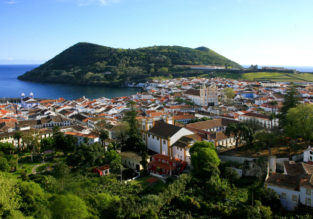Late summer! Non-stop flights from Boston to Terceira, Azores for only $426!