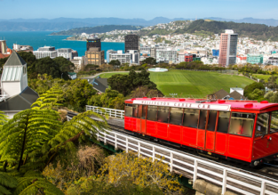 Qantas: Cheap flights from Singapore to Wellington, New Zealand for only $433!