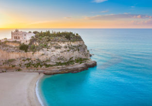 4-night stay in a 4* beachfront resort in Calabria, Italy + flights from Frankfurt Hahn for just €105!