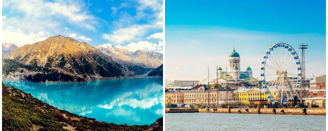 SUMMER: Finland and Kazakhstan in one trip from Dublin from only €183!