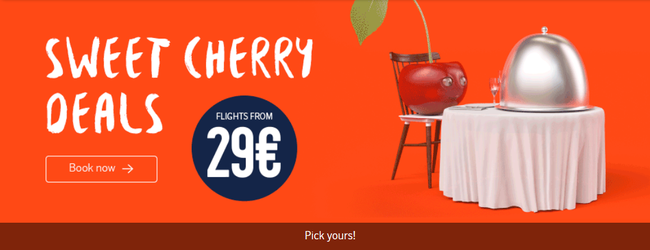 airBaltic Sweet Cherry Deals: spring flights from €29 one way!