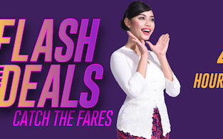 Malindo Air Flash Sale! Flights from $4 one way! Business class from $38!
