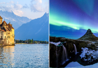 New York to Geneva, Switzerland for only $298! Add a stop in Iceland for $37 more!