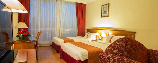 Deluxe room in 5* Grand Excelsior Sharjah, UAE for only €23 per person!