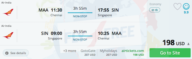 Are there any direct flights from uk to goa