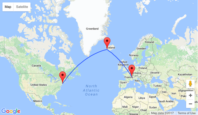 SUMMER Geneva to New York for 310 2 in 1 with Iceland for 351