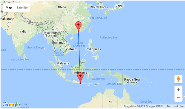 Fly From Hong Kong To Bali For Only 227