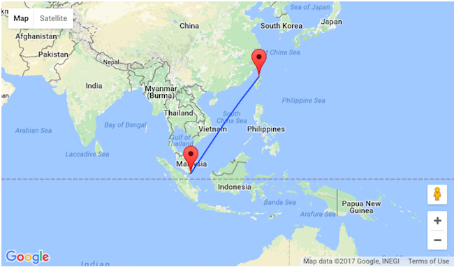 Singapore Airlines Non Stop From Taipei To Singapore For