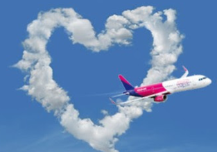 Valentine's Day Sale: 20% off for Wizz Air Discount Club members!