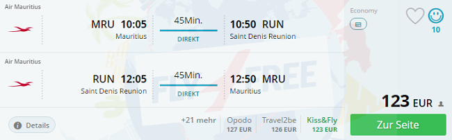 Mauritius And Reunion In One Trip From Poland Returning To Germany For 452
