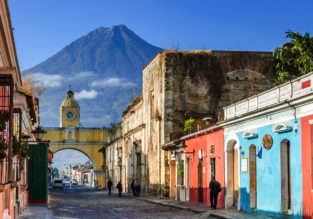 Cheap full-service flights from Italy to Guatemala for only €376!