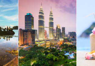 Cheap flights from London to Southeast Asia from only £276! 2 in 1 with China from only £292!
