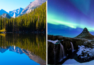 2 in 1: London to Iceland & Denver from only £243!