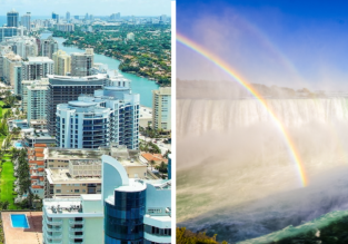 Germany to Florida (Miami + Orlando) and Niagara Falls for €335!