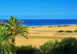 Winter escape on Gran Canaria! 7 nights in well-rated aparthotel + flights from Scotland for just £160!
