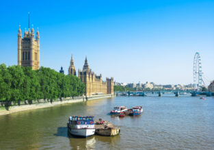 Spring & peak summer 2019! Cheap non-stop flights from New York to London and Paris from just $303!