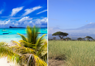 Mauritius and Kenya in one trip from Mumbai for $468!