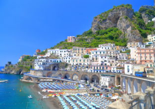 MAY! 7-night stay at beachfront resort on the Amalfi coast + flights from UK for just £138!