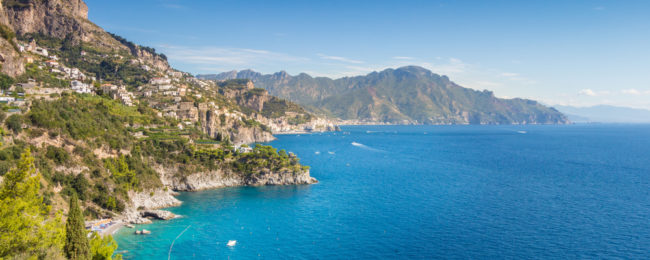 7-night stay at 4* sea view resort on the stunning Amalfi coast + flights from UK for just £120!