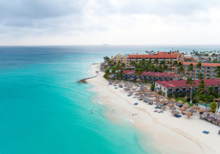 Caribbean package: 7 nights at top rated apartment in Aruba + flights from Manchester for £345!