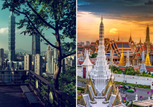 5* EVA: Taipei and Bangkok/Manila in one trip from New York from $552!