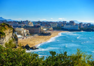 Holiday in France! 7 nights at 4* hotel in Biarritz + cheap flights from London for just £158!