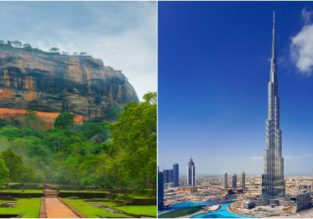 Sri Lanka and Dubai in one trip from Shanghai for $408!