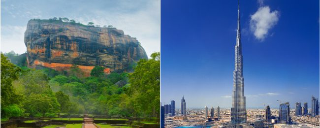 Xmas and NYE! Dubai and Sri Lanka in one trip from Bangkok for $439!