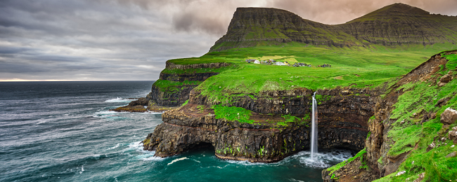 Summer! Cheap full-service flights from Prague and Vienna to Faroe Islands for only €224!