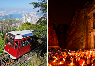 Hong Kong and Jordan in one trip from Perth for AU$888!
