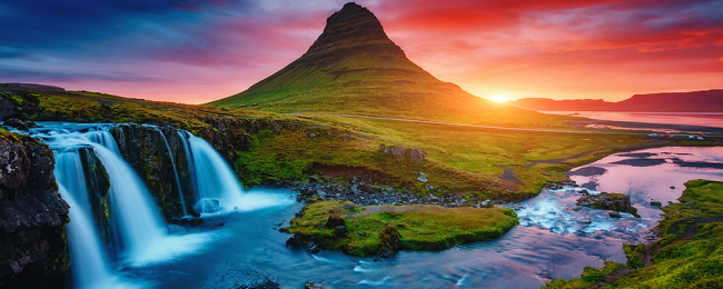 Cheap summer flights from Paris or Brussels to Iceland from only €97!