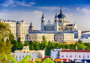 Summer! 5* Hotel Puerta America Madrid for only €27.5/£24 pp!