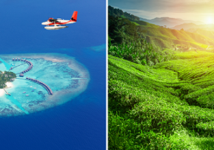 2 in 1: Sri Lanka and Maldives in one trip from Singapore for $384/ SDG 537!