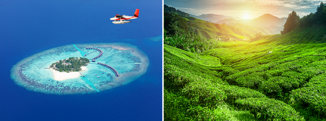 Xmas and NYE! Sri Lanka and Maldives in one trip from Singapore for $384/ SDG 537!