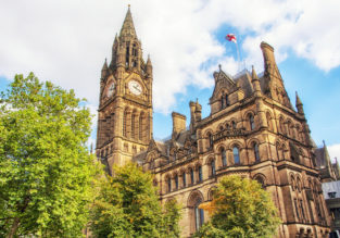 Non-stop from India to Manchester, UK for only $374!