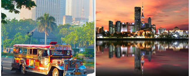 Non-stop between Kuwait and Manila, Philippines from $241!