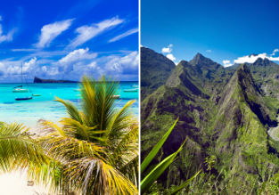 EXOTIC! Cheap flights from Italy to Reunion from only €463! 2 in 1 with Mauritius from €540!