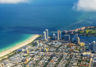 Many European cities to Miami from only €231/£200!