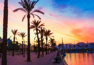 June & July! 7-night stay at well-rated in the Murcia region, Spain + flights from London for just £141!