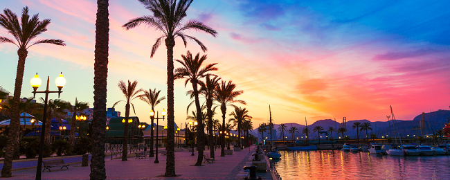 MAY: Flights from London + 7-night stay in 4* hotel & spa in La Manga, Spain for £173!