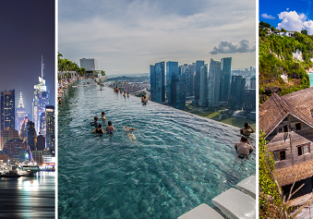 X-mas! 5* Singapore Airlines: New York, Singapore and Bali in one trip from Frankfurt for €1198!