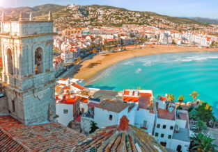 4-night stay in a well-rated residence on Spanish mediterranean coast + flights from London for just £106!