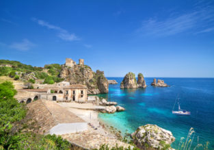 MAY! 7-night stay at beachfront hotel in Sicily + cheap flights from Germany from only €91!