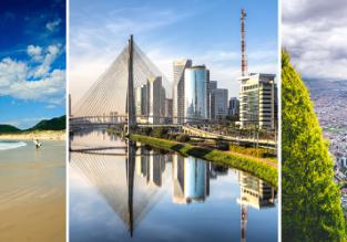 3 in 1: Navegantes + Sao Paulo (both Brazil) and Bogota, Colombia from L.A. for $636!
