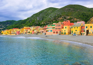 MAY: 5-night stay at very well-rated hotel in Liguria + cheap flights from London for just £97!