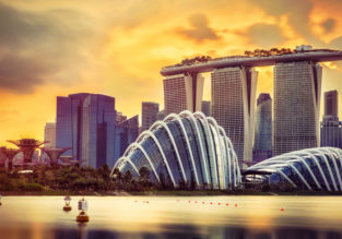HOT! Non-stop from Los Angeles to Singapore for only $356!
