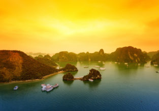 Cheap flights from Ho Chi Minh to Ha Long Bay from only $54!