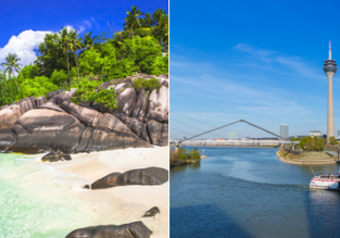 ERROR FARE: Seychelles to Dusseldorf, Germany for $261!